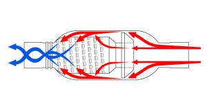 aero turbine muffler