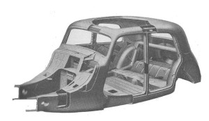 citroen traction avant monocoque