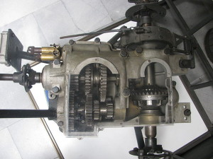 This Csonka transaxle dates to 1908.