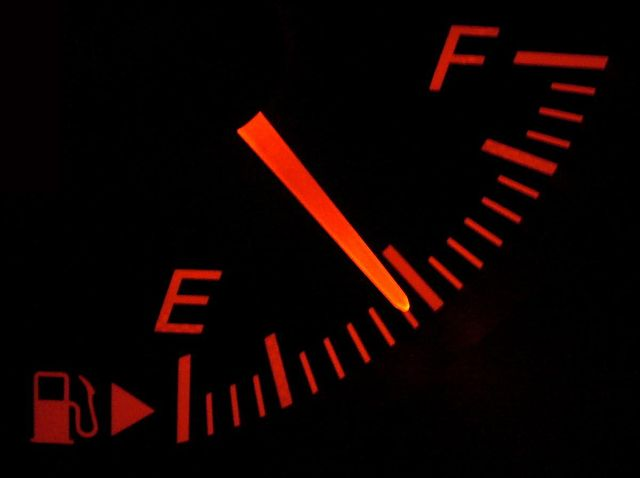 fuel gauge indicator