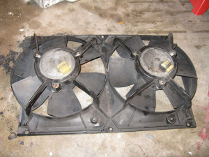 radiator cooling fans