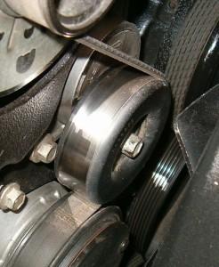 serpentine belt tensioner