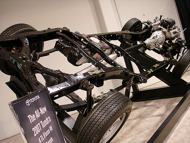 toyota tundra chassis frame