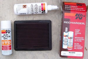 air filter oil kit