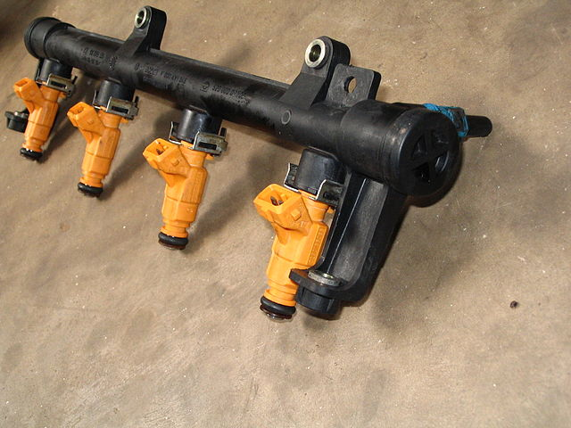 fuel injector rail